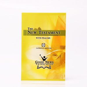 Good News Translation New Testament with Psalms and Proverbs (Catholic Missionary edition)-0