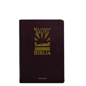 Maayong Balita Biblia (Compact Flex Gold Thumb Index)-0