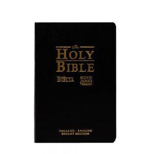 Ang Biblia/Holy Bible Diglot:TAG/KJV055GE -black-0